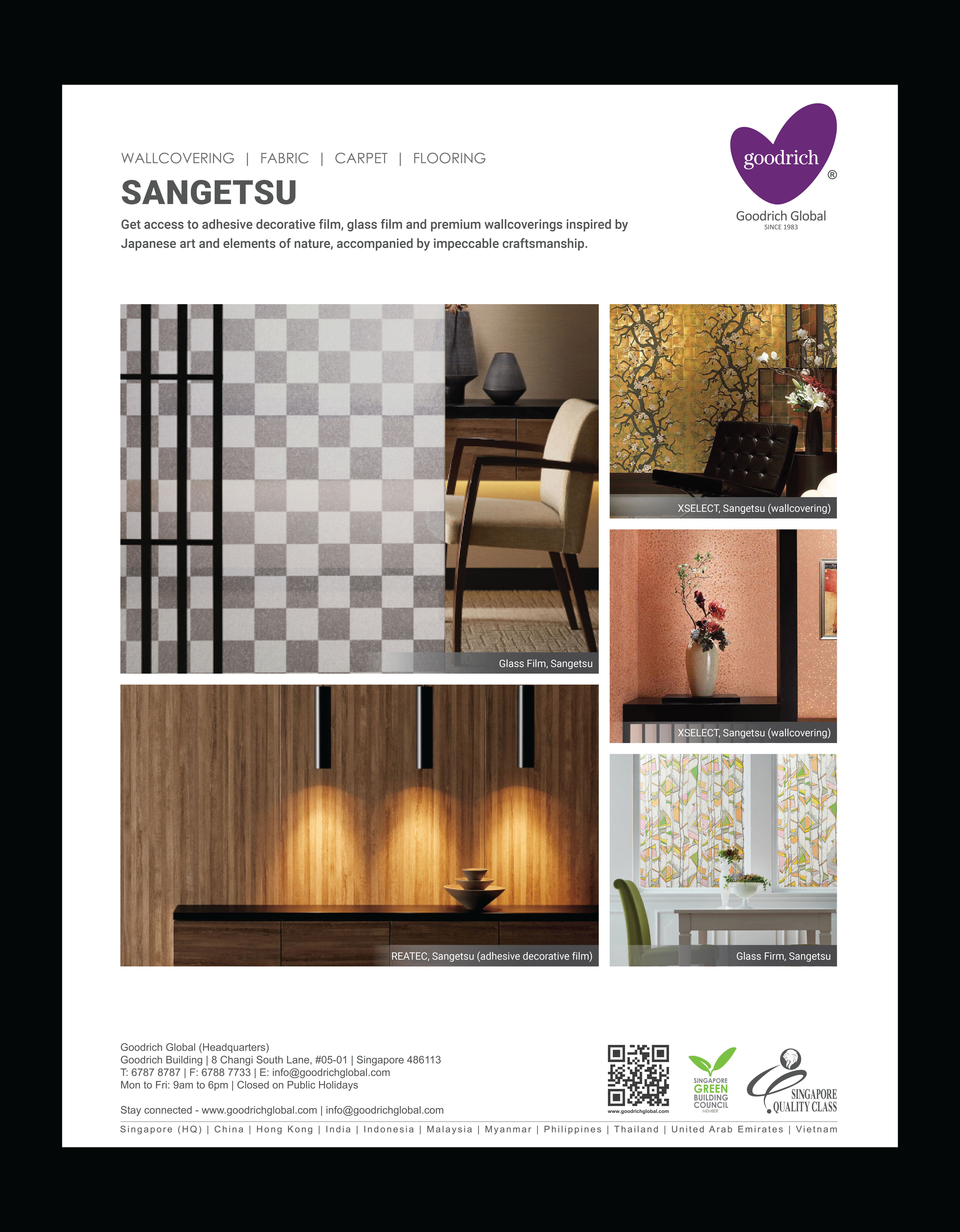 Product Showcase: Japanese Wallcoverings and Films