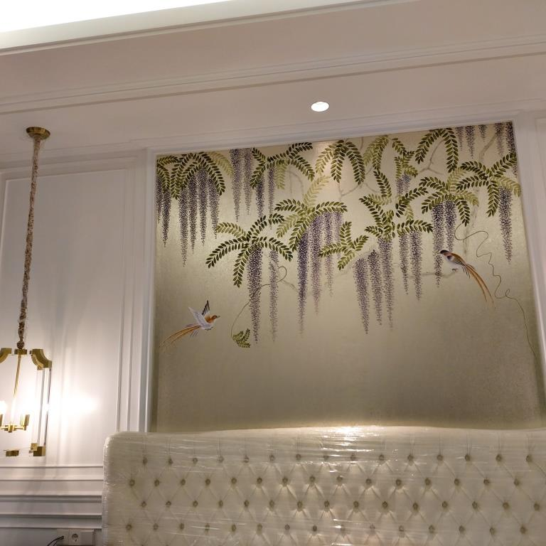 3 Handpainted Wisteria Project, North Jakarta