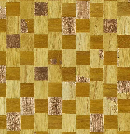 6410 Collection - Gilded Accent & Grid