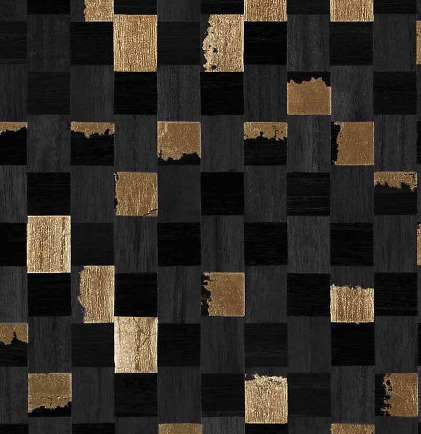 6411 Collection - Gilded Accent & Grid